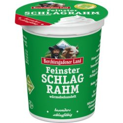 Berchtesgadener friss tejszín