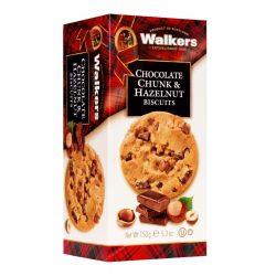 Walker's skót vajas keksz csokoládé és mogyoró darabokkal