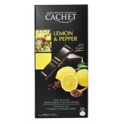 Cachet citromos borsos étcsokládé