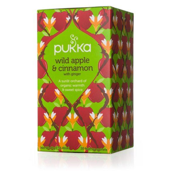 Pukka bio vad alma és fahéj tea gyömbérrel