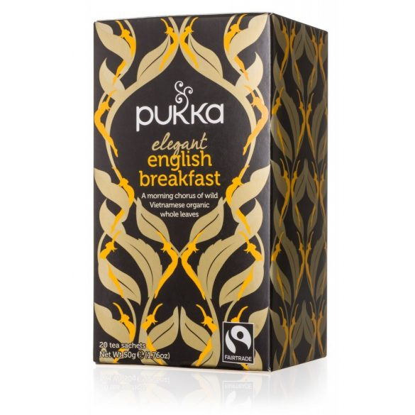 Pukka bio english breakfast tea