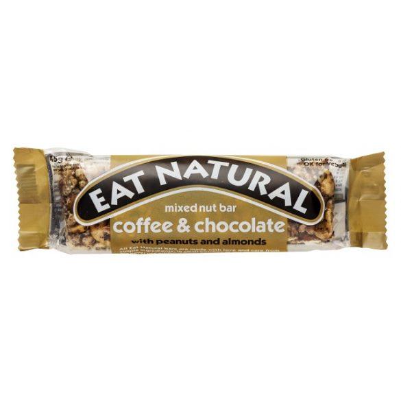 Eat Natural gluténmentes müzliszelet- kávé, csokoládé