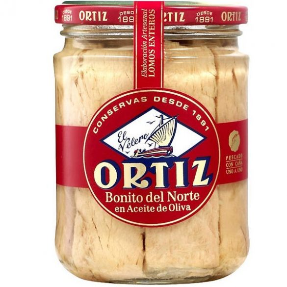 Ortiz fehér tonhalfilé olívaolajban