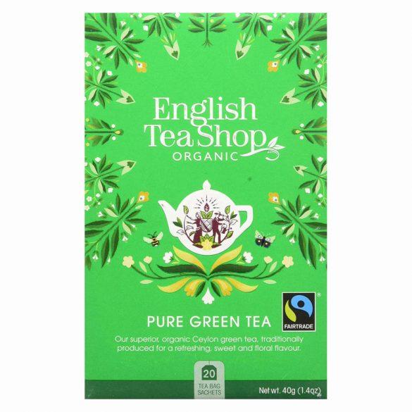 English Tea Shop bio zöld tea