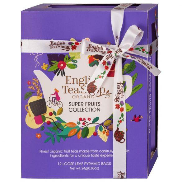 English Tea Shop 12 db-os bio zöld tea válogatás