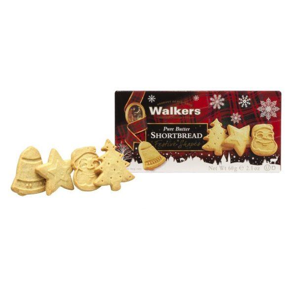 Walkers mini Festive shapes vajas keksz