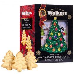 Walkers mini fenyőfa formájú vajas keksz