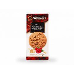 Walker's skót keksz eper darabokkal és fehér csokoládéval