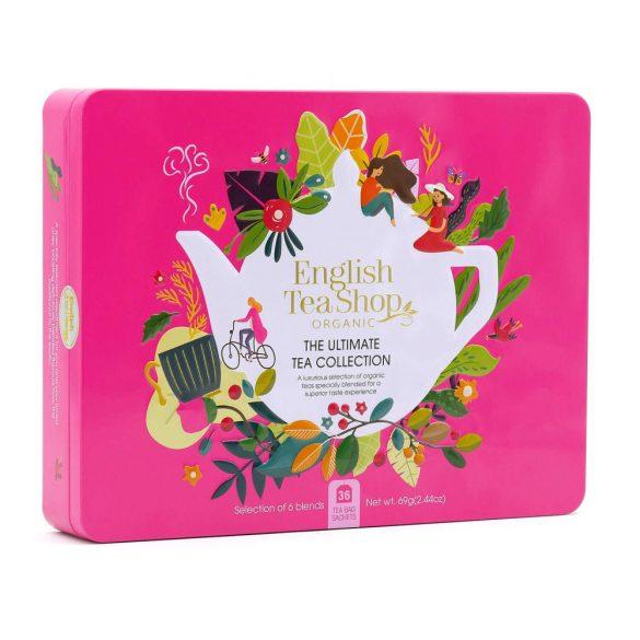 English Tea shop 36 db-os teaválogatás fémdobozban