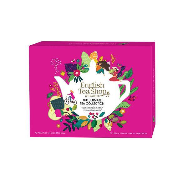 English Tea Shop 48 db-os bio teaválogatás
