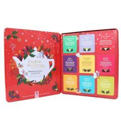 English Tea Shop 72 db-os prémium teaválogatás piros fémdobozban