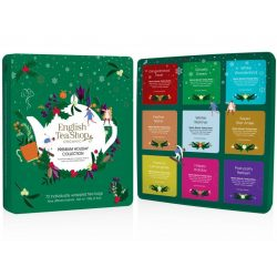 English Tea Shop 72 db-os ünnepi teaválogatás zöld