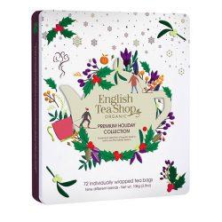 English Tea Shop 72 db-os prémium karácsonyi teaválogatás