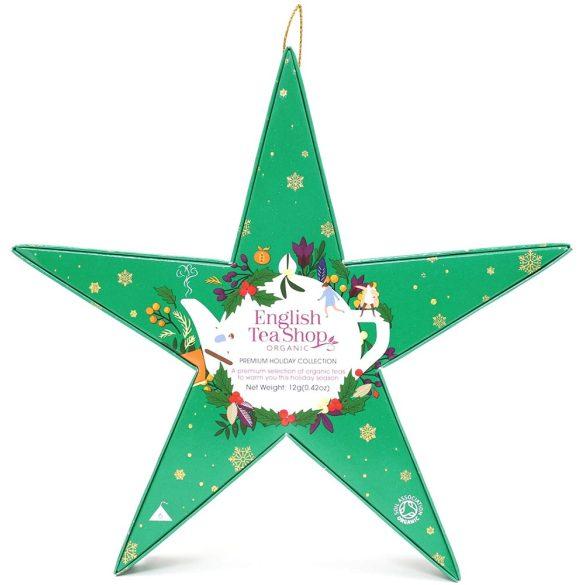 English Tea Shop 6 db-os zöld csillag teaválogatás
