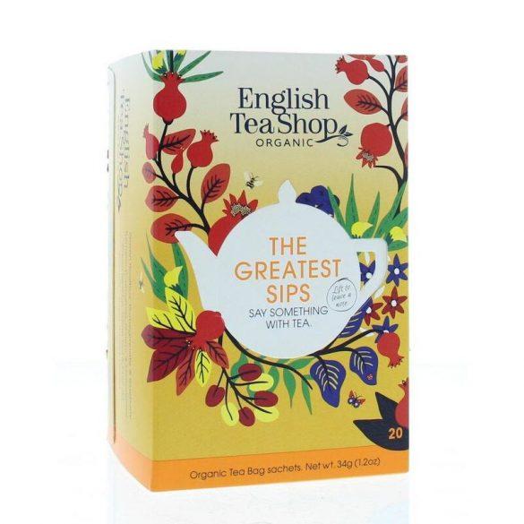 English Tea Shop The Greatest Sips teaválogatás