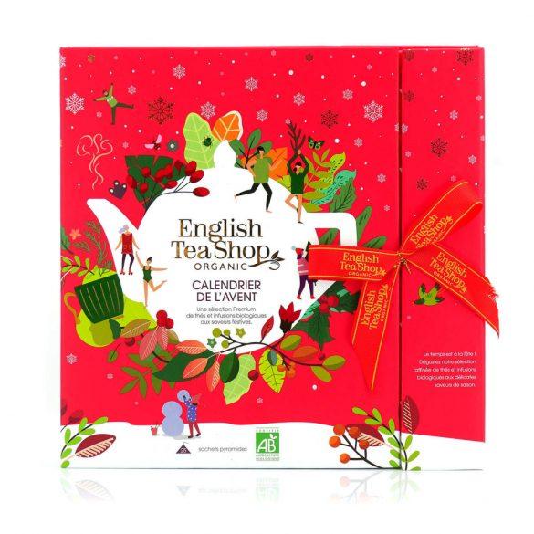 English Tea Shop adventi kalendárium piros