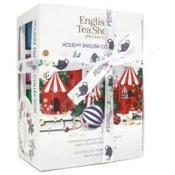 English Tea Shop 12 db-os karácsonyi teaválogatás