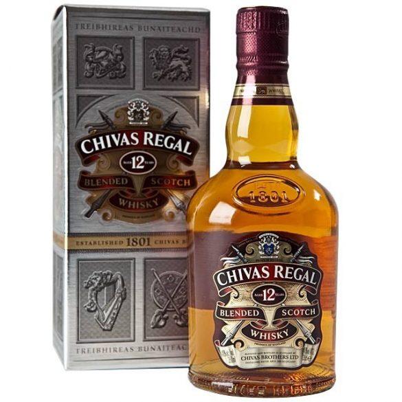 Chivas Regal 12 éves whiskey