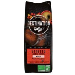 Destination Stretto italiano bio őrölt kávé