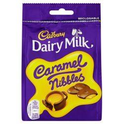 Cadbury Caramel Nibbles csokoládé