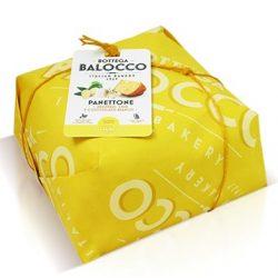 Balocco gyömbéres citromos fehércsokis panettone