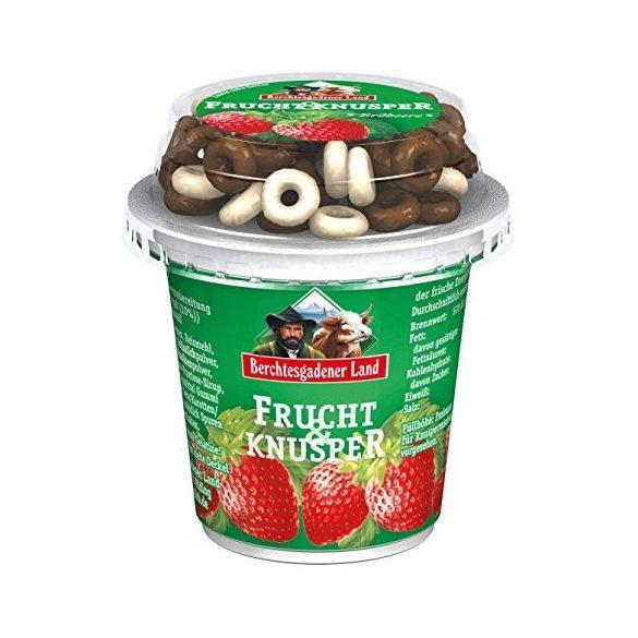 Berchtesgadener müzlis epres joghurt
