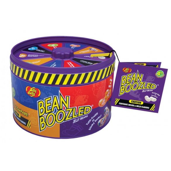 Jelly Belly Bean Boozled pörgetős játék fémdobozban