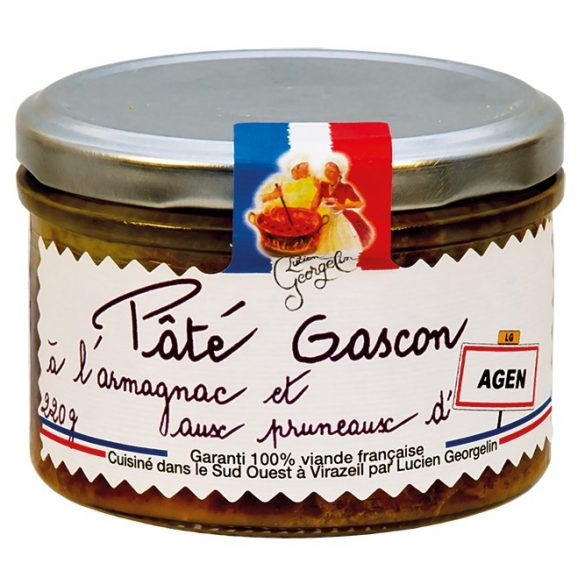 Lucien aszalt szilvás Armagnac-os húspástétom