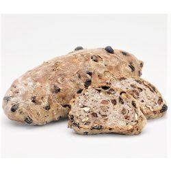 Marmorstein diós mazsolás kenyér