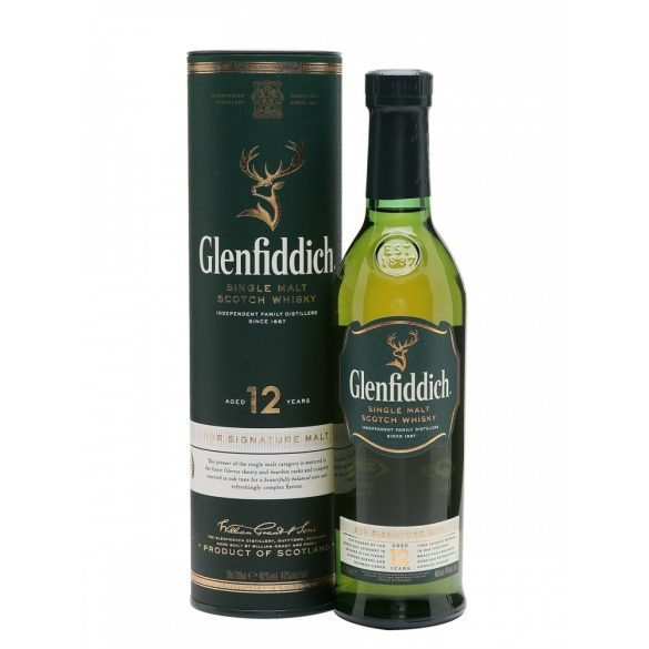 Glenfiddich 12 éves whiskey