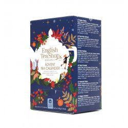 English Tea Shop adventi bio teaválogatás kék