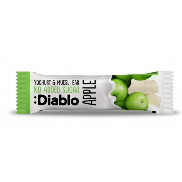 Diablo cukormentes almás joghurtos müzliszelet