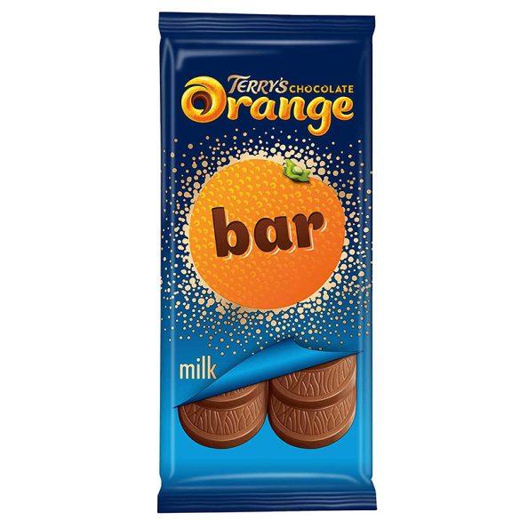 Terry's narancsos tejcsokoládé tábla