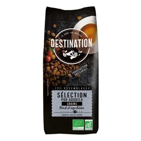 Destination selection bio szemes kávé 100% arabica