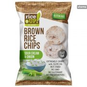 Rice up teljes kiőrlésű rizs chips hagymás tejfölös