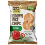 Rice up teljes kiőrlésű rizs chips paprikás