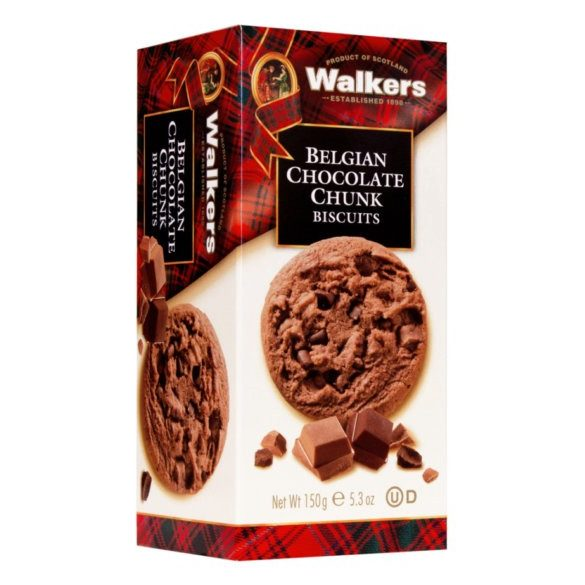 Walker's skót vajas keksz csokoládé darabokkal