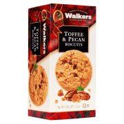 Walker's skót vajas keksz ropogós amerikai pecan dióval és karamell darabokkal
