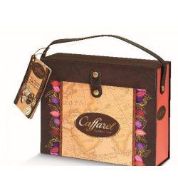Caffarel bőrönd pralinékkal