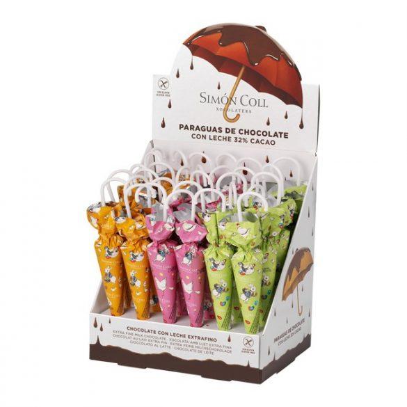 Simón Coll tejcsokoládé esernyő