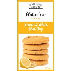 Farmhouse citromos fehércsokoládés gluténmentes keksz