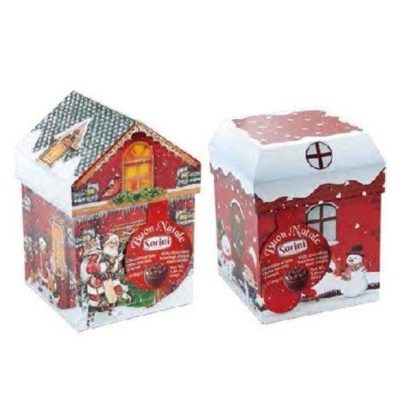 Sorini csokoládé karácsonyi házikó
