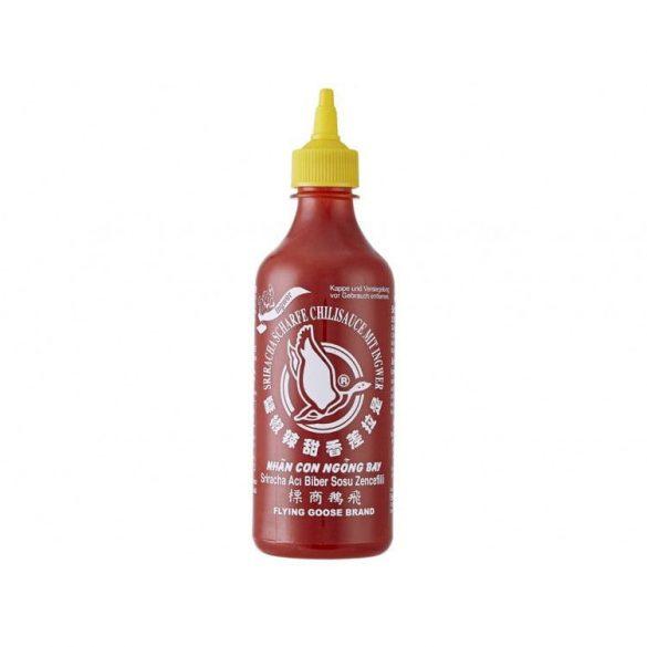 Flying Goose Sriracha csípős chili szósz gyömbérrel