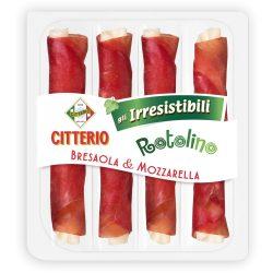 Citterio Bresaola & Mozzarella sajt tekercs
