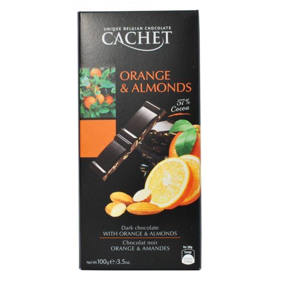 Cachet narancsos mandulás étcsokoládé