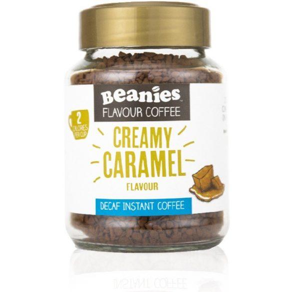 Beanies koffeinmentes karamellás instant kávé