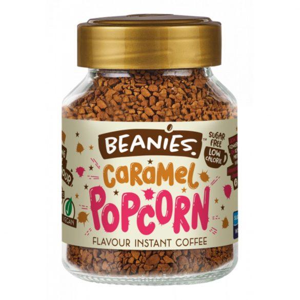 Beanies karamellás popcorn ízű instant kávé