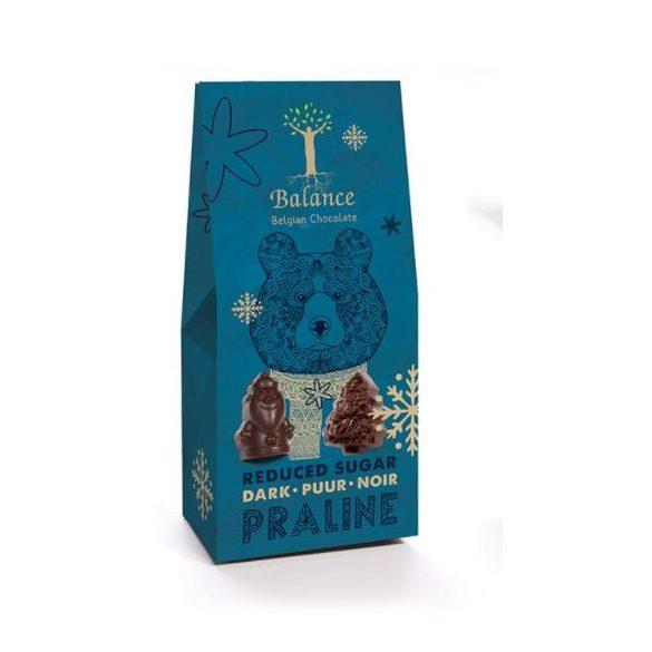 Balance cukormentes étcsokoládé praliné ünnepi csomagolásban
