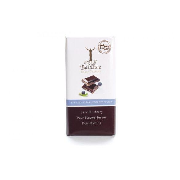 Balance cukormentes étcsokoládé áfonyával