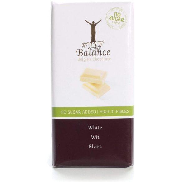 Balance cukormentes fehér csokoládé